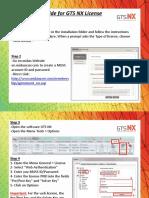 GTSNX Web Authentication Process