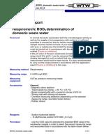 WTW Application report BOD5 domestic waste water-EN