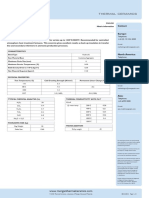 Firelite 2600 Li Metric Data Sheet