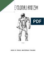 Gdr Ita Truppe Coloniali 2344 Di Qwein [Fantascienza] 0.3
