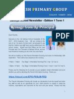Salmiya School Newsletter Edition 1