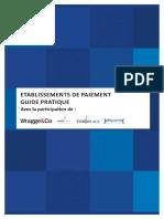 Etablissements de Paiement Guide Pratique en vue de demande