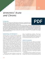Bronchitis Acute and Chronic