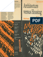 Architecture Versus Housing Martin Pawley