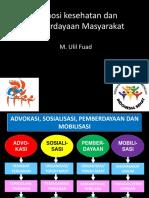 4.1. Promosi Kesehatan, Perilaku Dan Pemberdayaan Masyarakat (Dr. Ulil)
