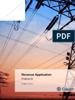 Eskom Revenue Application for 2018/19