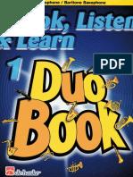 Duo Book 1 (saxophone)