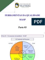 Aula Qualidade Parte 03 Ferramentas Da Qualidade MASP 20170728-1349