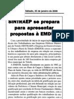 Matérias sobre o acordo 2009-2010