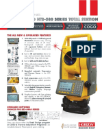 HTS580 Series Total Station