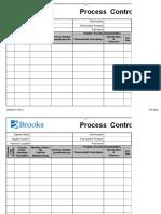 Plano de controle de processo