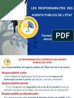 Responsabilits Agents Etat