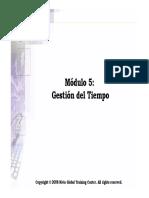 Modulo 5 - Gestion Del Tiempo