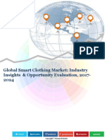 Global Smart Clothing Market (2016-2024)- Research Nester