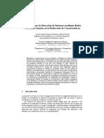 Detección de Intrusos - Redes Neuronales Basado en La Reducción de Características