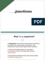 Conjuction s