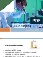 35. Ibanez, Abegail-Laboratory Procedure For Specimen Handling.pptx