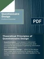 Questionnaire Design Sharambei.pptx