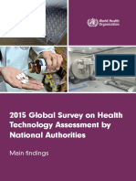 WHO- Global Survey of Health Technology