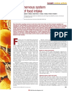 Nature 2000 - Central Nervous System Control of Food Intake