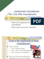 9th - 10th Amendment