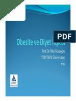 Obesite Diyet Iliskisi