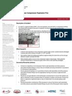 ENFORM Compressor Explosion Alert