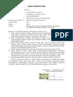 Surat Pernyataann