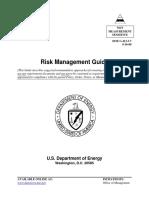 DOE G 413.3-7, Risk Management Guide.pdf