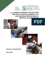 PROGRAMA DE ASISTENCIA TECNICA PARA MEJORAR LA GESTION COMERCIAL  DE  LAS ENTIDADES PRESTADORAS DE  SERVICIOS DE SANEAMIENTO