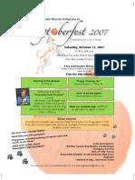 Dogtoberfest Flyer