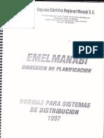Normas de Proyectos Eléctricos Cnel Manabi