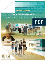 Estandares de Ingles 2014