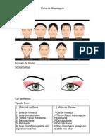 Ficha de Maquiagem