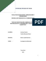 INVESTIGACION CUANTITATIVA Y CUALITATIVA EN LA INVESTIGACIÓN COMERCIAL