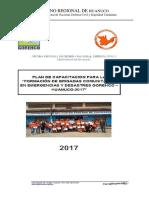 Plan Formacion Brigada Comunitaria 2017