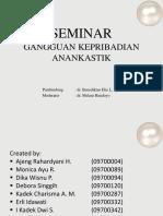 Seminar Anankastik
