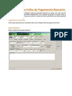 Como Configurar Folha de Pagamento Bancário no Athenas3000