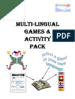 Multi-Lingual Games Pack