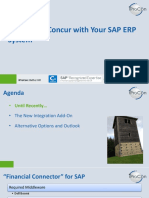 Concur_SAP_Integration pdf | Sap Se | Information Technology Management