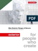 Catalog HPL FUNDER MAX Exterior Range of Decors GB WEB Neu