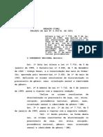 PLC122 Versão Antiga Que Chegou Ao Senado