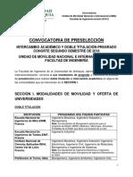 Convocatoria_Doble Titulación e Intercambio Académico_Cohorte 2018-2_Fac. Ingeniería