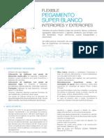 Pegamentos-Super Blanco Flexible