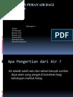 Fungsi dan Peran Air bagi Kehidupan.pptx