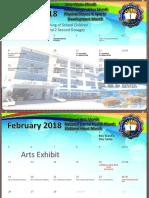 2017 TES School Calendar