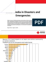 Research on Social Media in Crises from the Red Cross