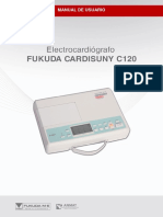 Manual Ecg Fukudac c120