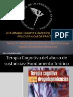 Presentacion. TC Del Abuso de Sustancias Fundamento Teorico