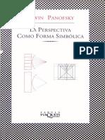 La perspectiva como forma simbolica.pdf